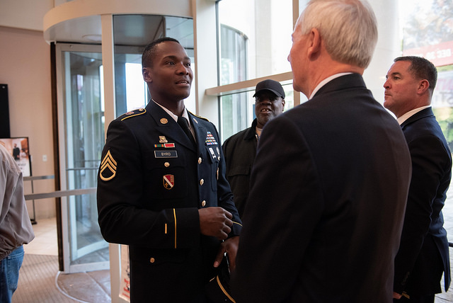 Veterans Day  State of Arkansas ceremony